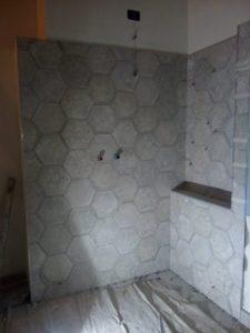Posa piastrelle novaledo gres porcellanato esagonale artigianocasatua - Piastrelle esagonali gres porcellanato ...