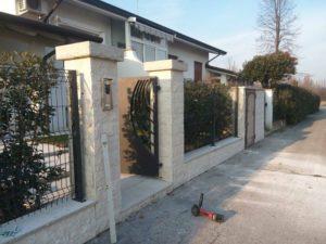 Posa pietra ricostruita Trevisoe cemento